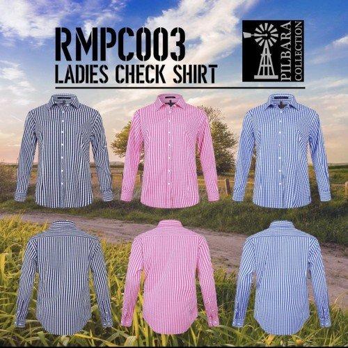 Ritemate RMPC003 Ladies Check Shirt