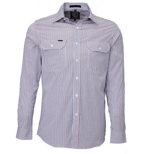 Ritemate Check Shirt RMPC011RNW