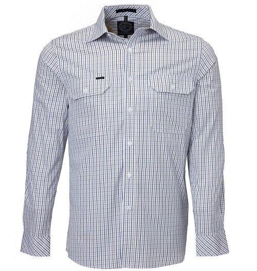 Ritemate Check Shirt RMPC011SNW